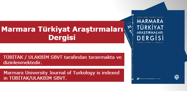 Marmara University Journal of Turkology (MUJOT)